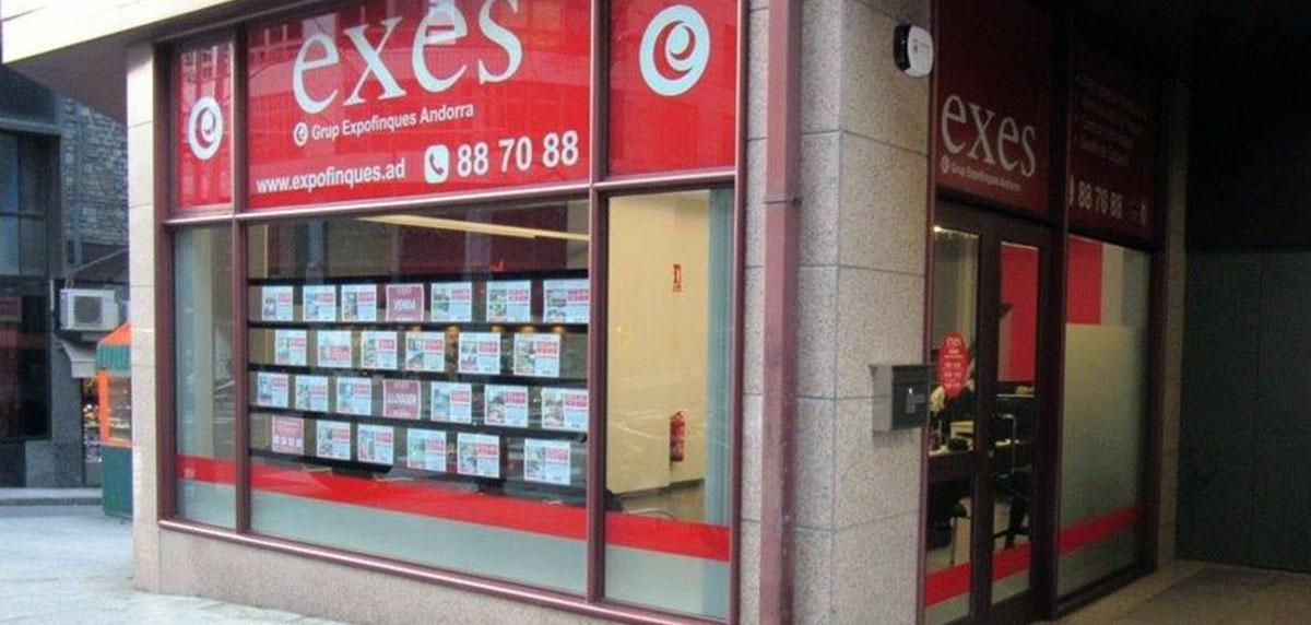 Grupo Expofinques Exes Andorra, la inmobiliaria multigestión de Andorra para la compra y venta de su inmueble.